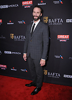 06 January 2018 - Beverly Hills, California - Joseph Fiennes. 2018 BAFTA Tea Party held at The Four Seasons Los Angeles at Beverly Hills in Beverly Hills.    <br /> CAP/ADM/BT<br /> &copy;BT/ADM/Capital Pictures