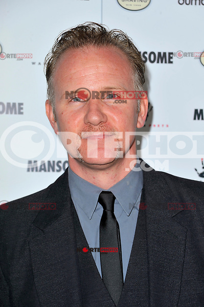 Morgan Spurlock at the premiere of Morgan Spurlock's 'Mansome' at the ArcLight Cinemas on May 9, 2012 in Hollywood, California. © mpi35/MediaPunch Inc.
