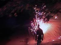 Street Photography, Manila, Philippines Fireworks,
