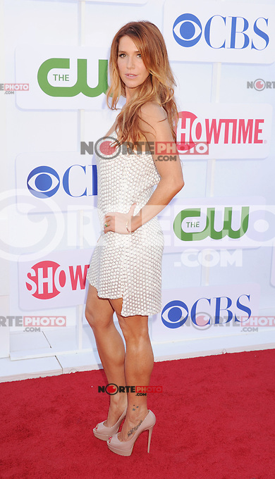 BEVERLY HILLS, CA - JULY 29: Poppy Montgomery arrives at the CBS, Showtime and The CW 2012 TCA summer tour party at 9900 Wilshire Blvd on July 29, 2012 in Beverly Hills, California. /NortePhoto.com<br />