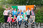 Pictured at Kerry County Council headquarters, Aras an Chontae on Monday were colleagues for Roy Guerin, who is heading to London to compete in the powerlifting category of the Paralympic Games 2012.