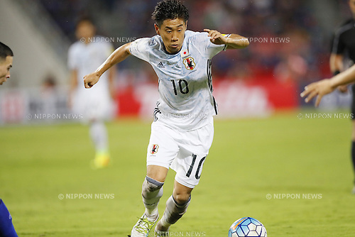 Shinji Kagawa (JPN), SEPTEMBER 6, 2016 - Football / Soccer : FIFA World Cup Russia 2018 Asian Qualifier Final Round Group B match between Thailand 0-2 Japan at Rajamangala National Stadium, Bangkok, Thailand. (Photo by Yusuke Nakanishi/AFLO SPORT)