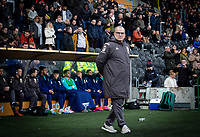 Leeds United manager Marcelo Bielsa watches on<br /> <br /> Photographer Alex Dodd/CameraSport<br /> <br /> The EFL Sky Bet Championship - Hull City v Leeds United - Saturday 29th February 2020 - KCOM Stadium - Hull<br /> <br /> World Copyright © 2020 CameraSport. All rights reserved. 43 Linden Ave. Countesthorpe. Leicester. England. LE8 5PG - Tel: +44 (0) 116 277 4147 - admin@camerasport.com - www.camerasport.com