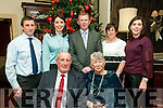50th Wedding Anniversary: Tadgh & Kathleen Quinn, Port, Abbeyfeale celebrating their 50th wedding anniversary with their family at the Listowel Arms Hotel on Saturday night last. Front : Tadgh & Kathleen Quinn. Back: Diarmuid, Helena, Donal, Marie & Catriona Quinn.