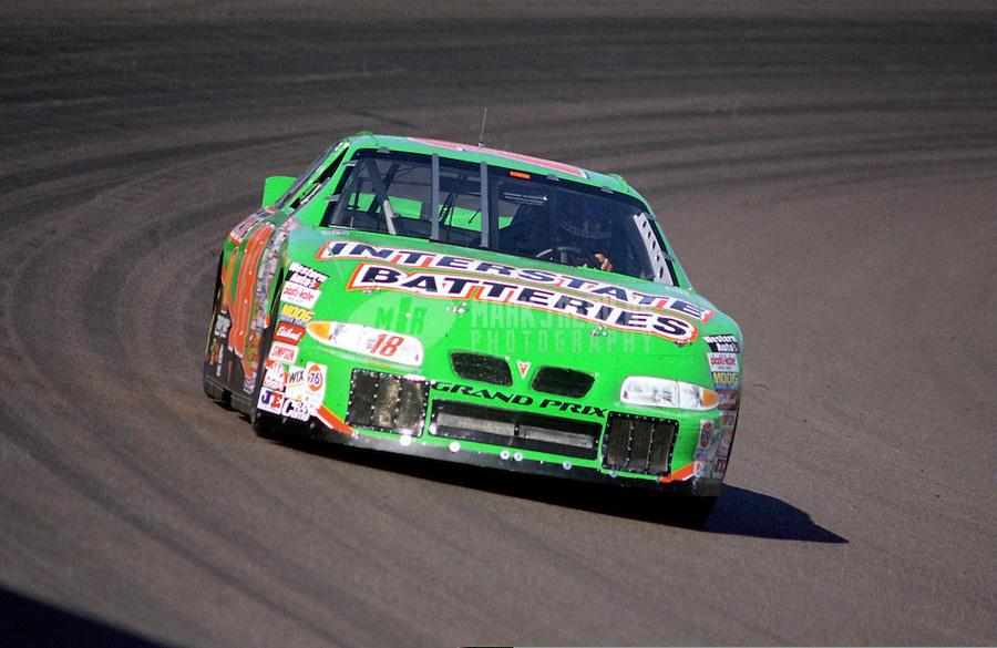 Nov. 1, 1997; Avondale, AZ, USA; NASCAR Winston Cup Series driver Bobby Labonte during the Dura Lube 500 at Phoenix International Raceway. Mandatory Credit: Mark J. Rebilas-