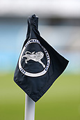 17th March 2019, The Den, London, England; The Emirates FA Cup, quarter final, Millwall versus Brighton and Hove Albion; Millwall corner flag