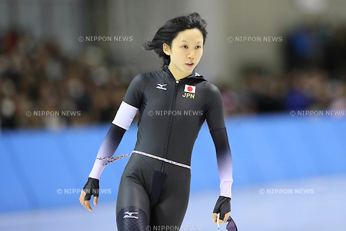 Miho Takagi (JPN), <br /> FEBRUARY 20, 2017 - Speed Skating : <br /> Women's 1000m <br /> during the 2017 Sapporo Asian Winter Games <br /> at Obihironomori Speed Skate Rink in Hokkaido, Japan. <br /> (Photo by AFLO SPORT)