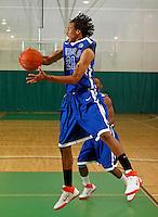 April 10, 2011 - Hampton, VA. USA;  Dominque Williams participates in the 2011 Elite Youth Basketball League at the Boo Williams Sports Complex. Photo/Andrew Shurtleff