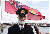 BNPS.co.uk (01202 558833)<br /> Pic: SvetlanaSavrasova/BNPS<br /> <br /> ***Please use full byline***<br /> <br /> Ivor Charles as Captain Smith in Titanic: Case Closed. <br /> <br /> Lights, camera, plankton!<br /> <br /> A crew of fishermen are enjoying unlikely sideline careers as actors in blockbuster films - thanks to their salty sea dog looks.<br /> <br /> The gang's craggy features, big beards and wild hair have helped them bag roles alongside Hollywood A-listers such as Johnny Depp and Charlize Theron.<br /> <br /> As many as 12 weather-beaten fishermen from Weymouth, Dorset, have found success on the big screen since signing up with a casting agency.<br /> <br /> And thanks to their authentic appearances they are regularly snapped by film producers wanting to make nautical scenes more realistic.