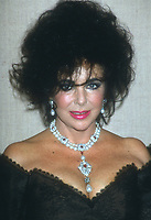 Elizabeth Taylor, 1990s, Photo By Michael Ferguson/PHOTOlink