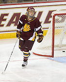 Katherine Wilson (Minnesota-Duluth - 9) - The University of Minnesota-Duluth Bulldogs defeated the Boston College Eagles 3-0 on Friday, November 27, 2009, at Conte Forum in Chestnut Hill, Massachusetts.