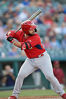 Springfield Cardinals Chris Chinea (26) bats during a Texas League game against the Frisco RoughRiders on May 4, 2019 at Dr Pepper Ballpark in Frisco, Texas.  (Mike Augustin/Four Seam Images)