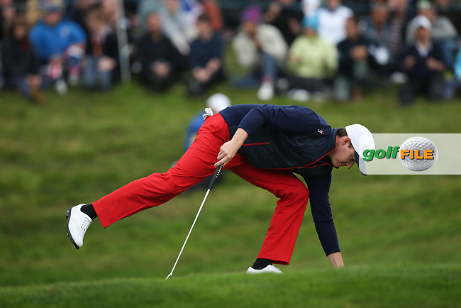 Jimmy Walker (USA) during Sunday's Singles at the 2014 Ryder Cup from Gleneagles, Perthshire, Scotland. Picture:  David Lloyd / www.golffile.ie