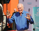 Christopher Plummer Hand And Footprint Ceremony 3-27-15