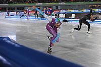 SCHAATSEN: AMSTERDAM: Olympisch Stadion, 28-02-2014, KPN NK Sprint/Allround, Coolste Baan van Nederland, Hein Otterspeer, ©foto Martin de Jong