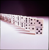 Still life of dominos