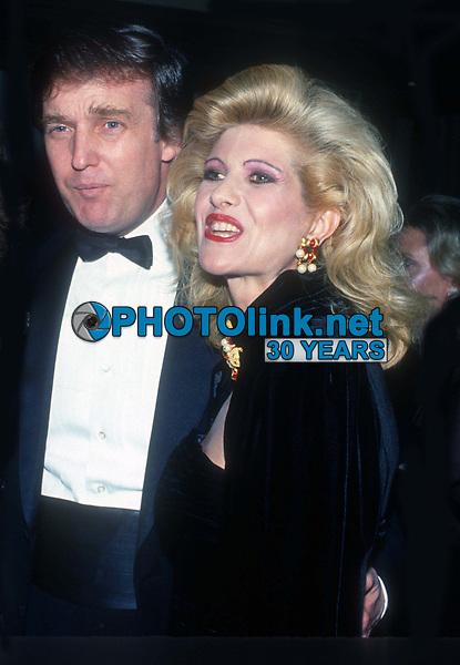 Donald Ivana Trump 1988<br /> Photo By John Barrett/PHOTOlink.net