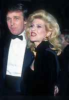 Donald Ivana Trump 1988<br /> Photo By John Barrett/PHOTOlink.net