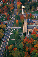 Williams College aerial, Berkshire, MA