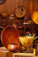 Hawaiian craft koa wood bowls