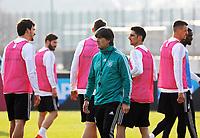 Bundestrainer Joachim Loew (Deutschland Germany) mit seiner Mannschaft - 25.03.2018: Training der Deutschen Nationalmannschaft, Olympiastadion Berlin