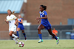 19 August 2016: Duke's Imani Dorsey. The Duke University Blue Devils played the Wofford College Terriers in a 2016 NCAA Division I Women's Soccer match. Duke won the game 9-1.