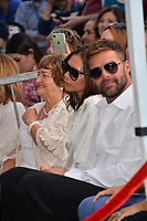 Victoria Beckham, Ricky Martin &amp; Ella Eva Mireles at the Hollywood Walk of Fame Star Ceremony honoring actress Eva Longoria, Los Angeles, USA 16 April 2018<br /> Picture: Paul Smith/Featureflash/SilverHub 0208 004 5359 sales@silverhubmedia.com