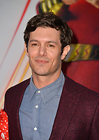 LOS ANGELES, CA. March 28, 2019: Adam Brody at the world premiere of Shazam! at the TCL Chinese Theatre.<br /> Picture: Paul Smith/Featureflash