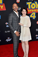 "LOS ANGELES, USA. June 12, 2019: Keegan-Michael Key & Elisa Pugliese at the world premiere of ""Toy Story 4"" at the El Capitan Theatre.<br /> Picture: Paul Smith/Featureflash"
