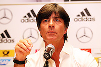 10.10.2014: Pressekonferenz Deutsche Nationalmannschaft