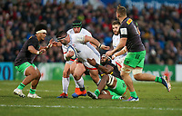 Saturday 7th December 2019 | Ulster Rugby vs Harlequins<br /> <br /> Marty Moore during the Heineken Champions Cup Round 3 clash in Pool 3, between Ulster Rugby and Harlequins at Kingspan Stadium, Ravenhill Park, Belfast, Northern Ireland. Photo by John Dickson / DICKSONDIGITAL