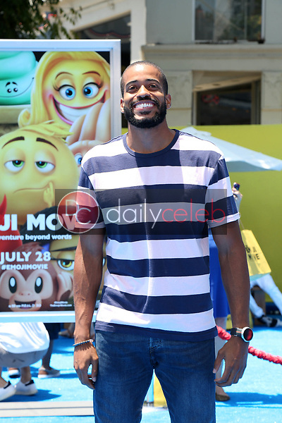 """Eric Bigger<br /> at the premiere of """"The Emoji Movie,"""" Village Theater, Westwood, CA 07-23-17<br /> David Edwards/DailyCeleb.com 818-249-4998"""