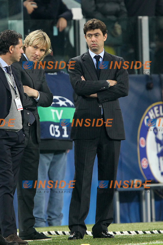 Andrea Agnelli Juventus.Torino 20/11/2012 Juventus Stadium.Football Calcio UEFA Champions League 2012/13.Juventus v Chelsea.Foto Insidefoto Paolo Nucci.
