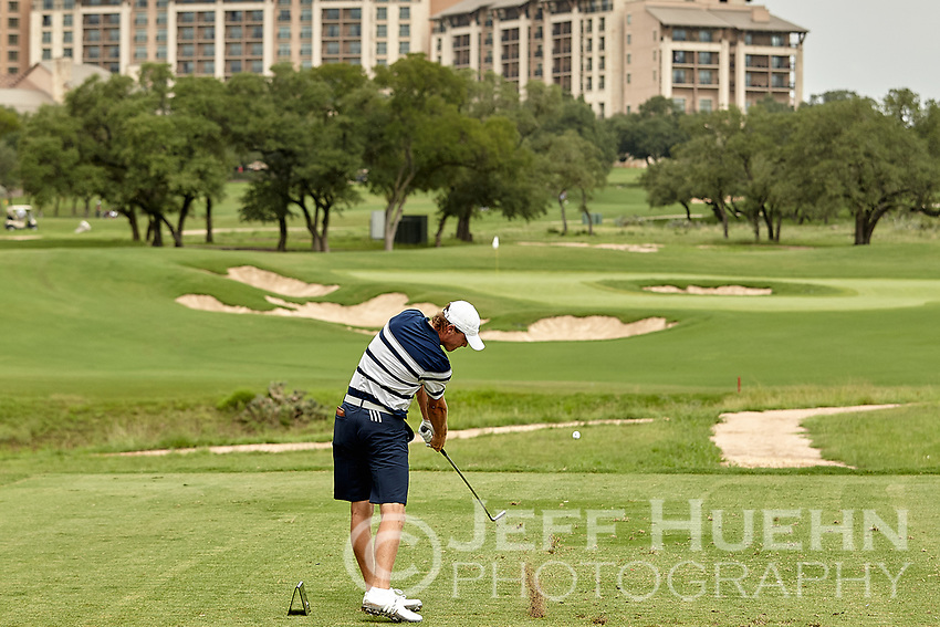 SAN ANTONIO, TX - SEPTEMBER 11, 2018: The University of Texas at San Antonio Roadrunners win the UTSA Lone Star Invitational Golf Tournament at the TPC San Antonio Oaks Course. (Photo by Jeff Huehn)