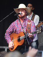 Cody Johnson performs on Fox & Friends All-American Summer Concert Series
