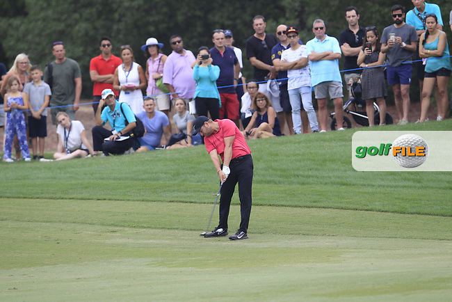 Jordan Smith (ENG) on the 18th fairway during the 3rd round of the DP World Tour Championship, Jumeirah Golf Estates, Dubai, United Arab Emirates. 17/11/2018<br /> Picture: Golffile | Fran Caffrey<br /> <br /> <br /> All photo usage must carry mandatory copyright credit (© Golffile | Fran Caffrey)