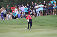 Jordan Smith (ENG) on the 18th fairway during the 3rd round of the DP World Tour Championship, Jumeirah Golf Estates, Dubai, United Arab Emirates. 17/11/2018<br /> Picture: Golffile | Fran Caffrey<br /> <br /> <br /> All photo usage must carry mandatory copyright credit (&copy; Golffile | Fran Caffrey)