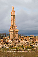 Sabratha, Libya - Mausoleum of Bes, Punic, 2nd century BC
