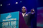 Dr. Gerald L. Durley, Reverend from the Providence Missionary Baptist Church gives a speech at PowerShift 2013. (Photo by: Robert van Waarden)