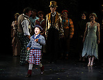 Zachary Unger during the Curtain Call and check presentation to The Lil' Bravest Charity Inc. at 'Chaplin' at the Barrymore Theatre in New York City on 11/09/2012