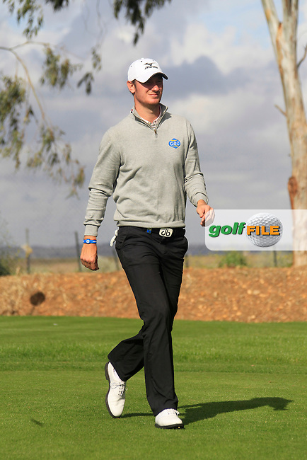 Chris Wood (ENG) walks off the 8th tee during Friday's Round 2 of the Open de Espana at Real Club de Golf de Sevilla, Seville, Spain, 4th May 2012 (Photo Eoin Clarke/www.golffile.ie)