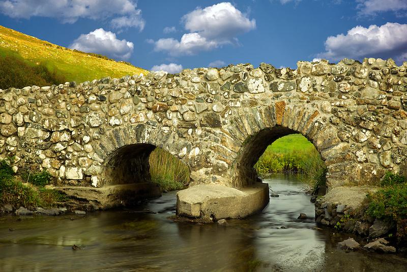 Leam Bridge near Oughterard, Ireland. Featured in the Quiet Man film