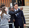 Ed Miliband <br /> Leader of the Labour Party <br /> Campaign Event at The Royal Horticultural Halls, 80 Vincent Square, London, SW1P 2PE<br /> 2nd May 2015 <br /> <br /> Ed Miliband MP <br /> Labour Leader <br /> General Election Campaign 2015 <br /> <br /> selfie <br /> <br /> Photograph by Elliott Franks <br /> Image licensed to Elliott Franks Photography Services