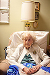 Elva McKittrick, 109, is the oldest resident of Sun City, Arizona, seen January 9, 2010. She has lived at Royal Oak for the past 26 years. She eats ice cream with her lunch and dinner every day.
