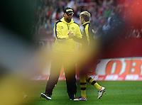 FUSSBALL   1. BUNDESLIGA  SAISON 2012/2013   2. Spieltag 1. FC Nuernberg - Borussia Dortmund       01.09.2012 Trainer Juergen Klopp und Marco Reuss  (v.li., Borussia Dortmund)