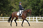 Stapleford Abbotts. United Kingdom. 04 August 2019. Class 4. British dressage. Brook Farm training centre. UK.~ 04/08/2019.  MANDATORY Credit Garry Bowden/Sport in Pictures - NO UNAUTHORISED USE - 07837 394578