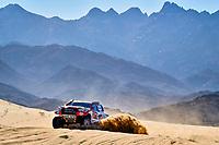 5th January 2020, Jeddah, Saudi Arabia;  307 Ten Brinke Bernhard nld, Colsoul Tom bel, Toyota Hilux, Toyota Gazoo Racing during Stage 1 of the Dakar 2020 between Jeddah and Al Wajh, 752 km - Editorial Use