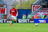 Tuesday, 7 May 2013<br /> <br /> Pictured: Angel Rangel of Swansea City<br /> <br /> Re: Barclays Premier League Wigan Athletic v Swansea City FC  at the DW Stadium, Wigan