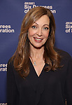 Allison Janney attends the 'Six Degrees Of Separation' Cast Meet & Greet at The New 42nd Street Studios on March 1, 2017 in New York City.