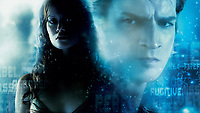 Serenity (2005) <br /> Wallpaper with Summer Glau &amp; Nathan Fillion<br /> *Filmstill - Editorial Use Only*<br /> CAP/KFS<br /> Image supplied by Capital Pictures